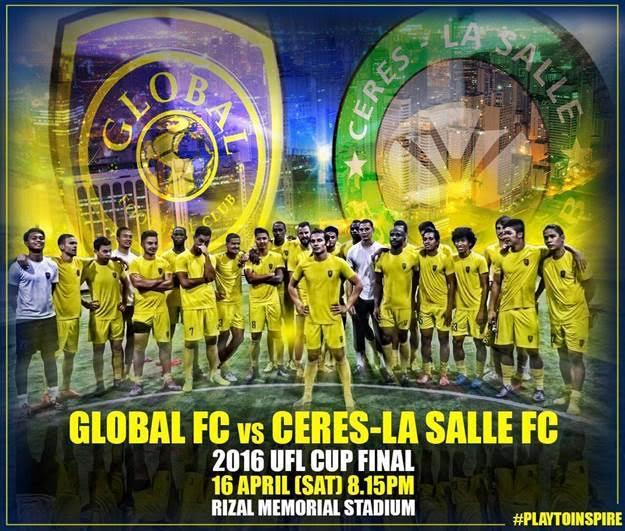 Ceres vs Global for UFL Cup final